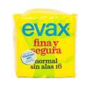 EVAX FINA SEGURA NORMAL SIN ALAS 16 UNIDADES