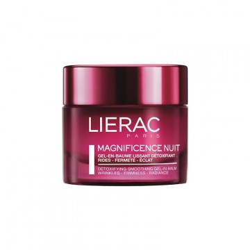 LIERAC MAGNIFICENCE NIGHT GEL-BÁLSAMO DETOX 50ML