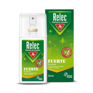 RELEC SPRAY REPELENTE MOSQUITOS FUERTE 75 ML