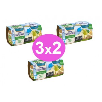 3x2 LOTE NATURN MANZ GOLDEN PLATAN 2x200GR