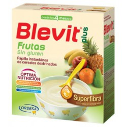 BLEVIT PLUS SUPERFIBRA FRUTAS 600 GRAMOS