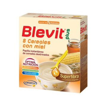BLEVIT PLUS SUPERFIBRA 8 CEREALES Y MIEL 600 gr