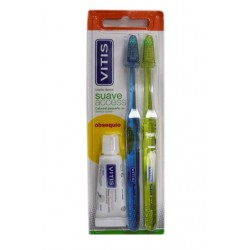 BLISTER CEPILLO DENTAL VITIS ADULTO SUAVE ACCESS
