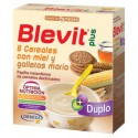 BLEVIT PLUS DUPLO 8 CEREALES CON MIEL Y GALLETAS