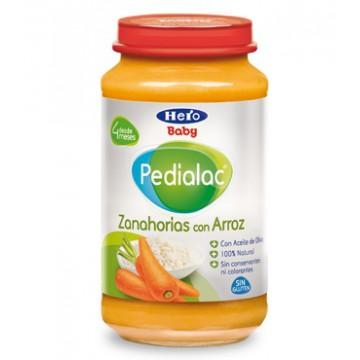 PEDIALAC ZANAHORIAS CON ARROZ HERO BABY 250 G