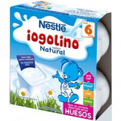 NESTLE IOGOLINO SABOR NATURAL 100 G 4 TARRINAS