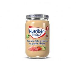 NUTRIBEN POTITO GUISO POLLO Y TERNERA 235 GR